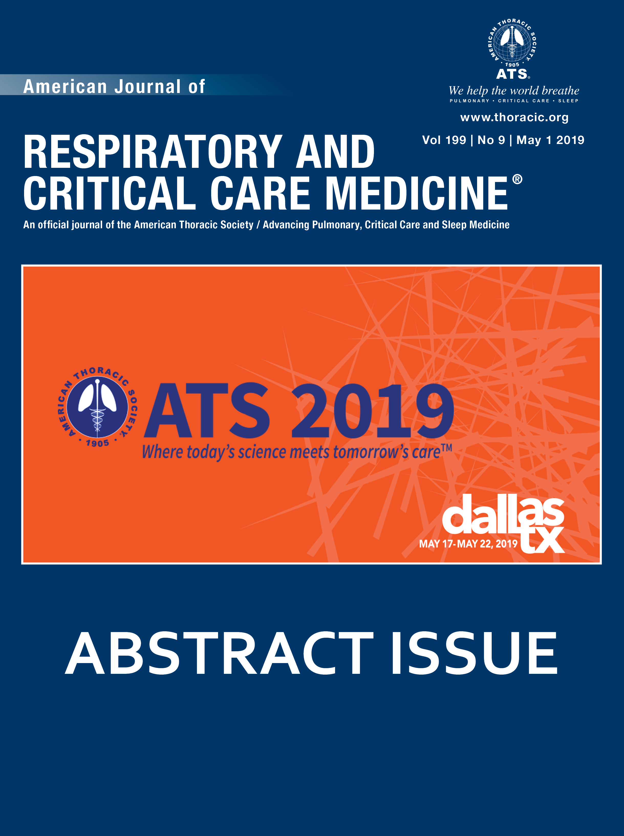 American Thoracic Society International Conference Abstracts